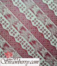 kertas kado motif batik kupu