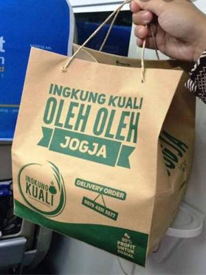Kantong tas Paperbag Ingkung Kuali